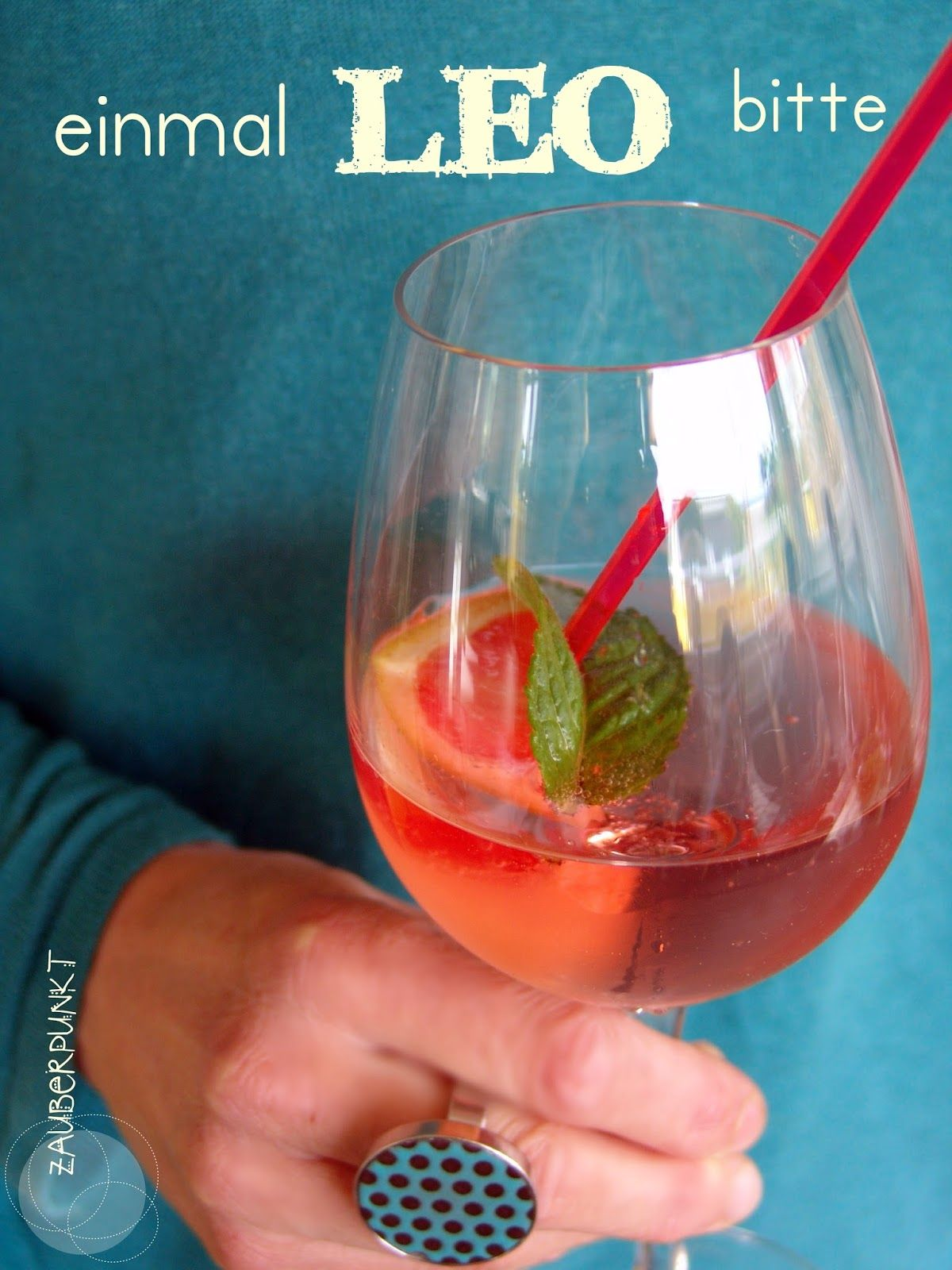 Sommerdrink Leo | Partygetränke | Pinterest | Backen