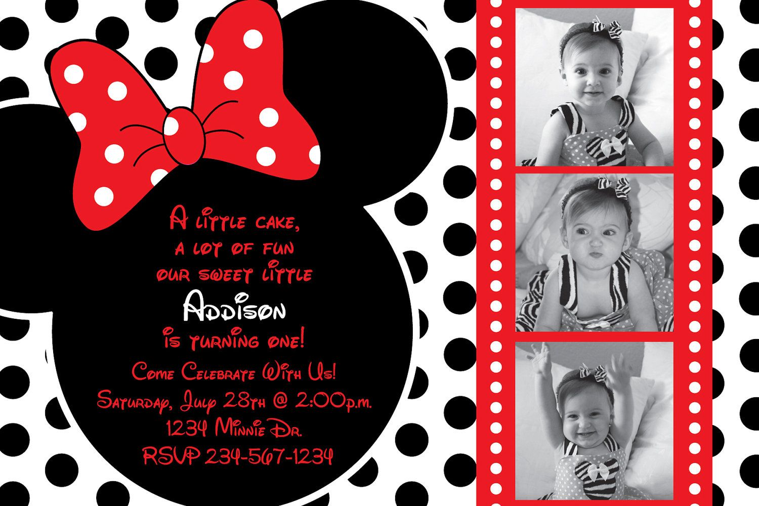 Red And White Polka Dot Mickey Mouse By HeathersCreations11 1000