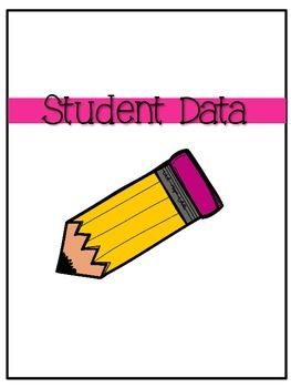 student data binder covers freebie from countless smart cookies on