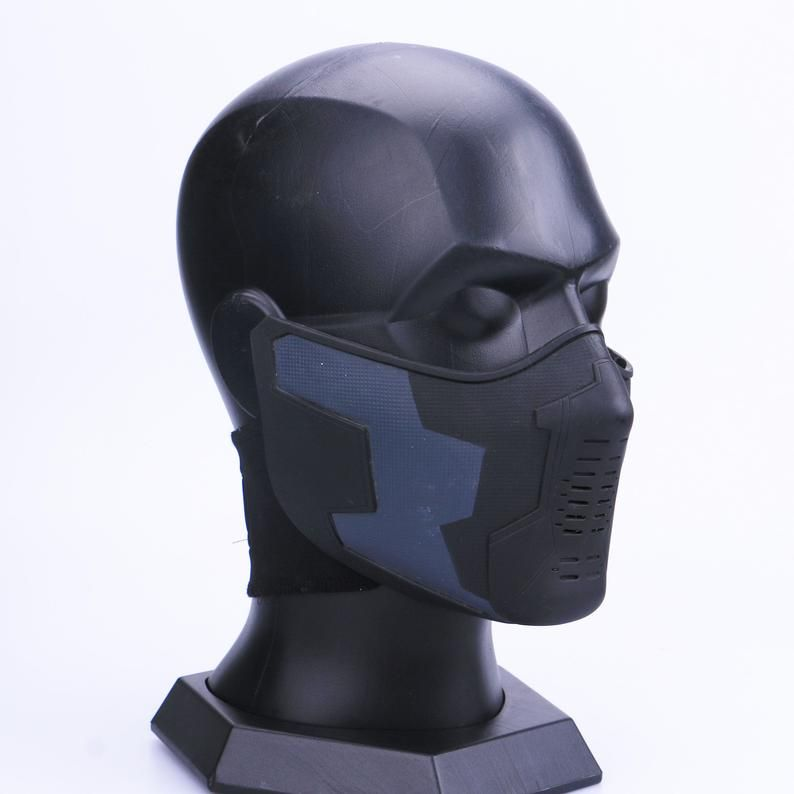 Winter Soldier Mask And Glasses Set Winter Soldier Cosplay Etsy In 2020 Winter Soldier Mask Winter Soldier Cosplay Winter Soldier