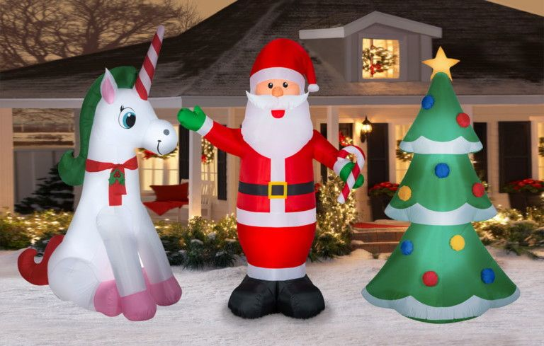 Christmas Clearance 7 Yard Inflatables Just 17 At Walmart Christmas Yard Christmas Yard Inflatables Christmas Clearance
