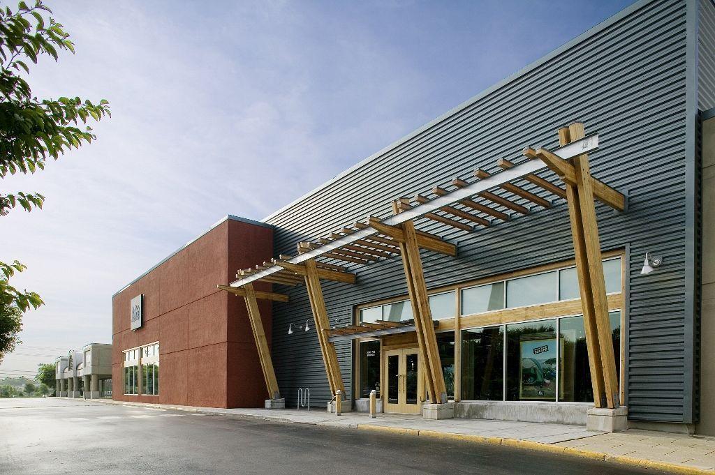 26 Modern Small Commercial Building Facade Design New