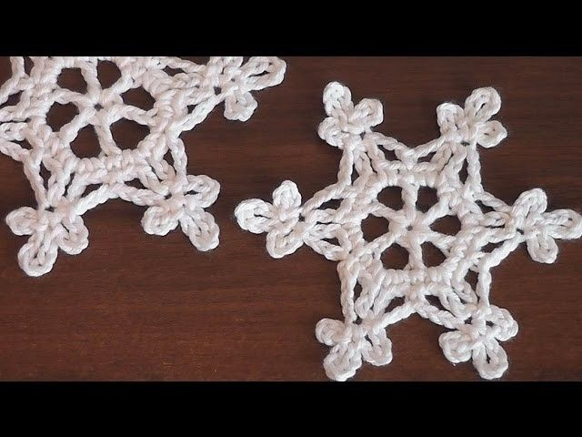 How To Crochet Scarf Very Easy Snowflake Motif Step By Step Tutorial Part 1 Crochet Snowflake Pattern Crochet Christmas Snowflakes Christmas Crochet