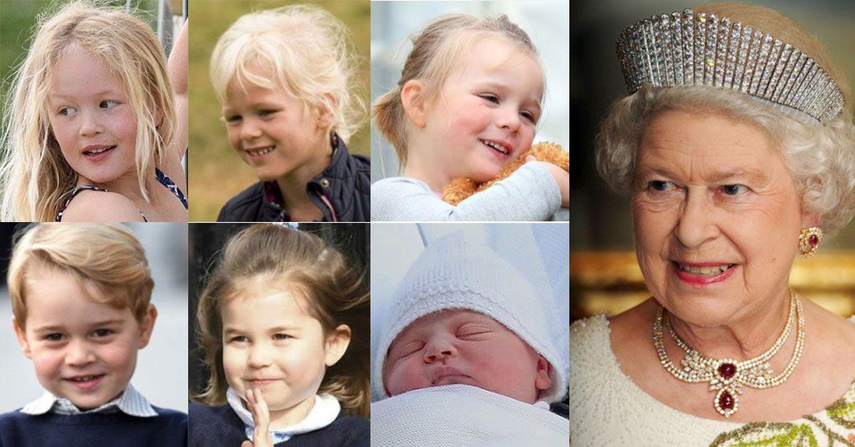 Queen Elizabeth Has 6 GreatGrandchildren, But Only 3 Are