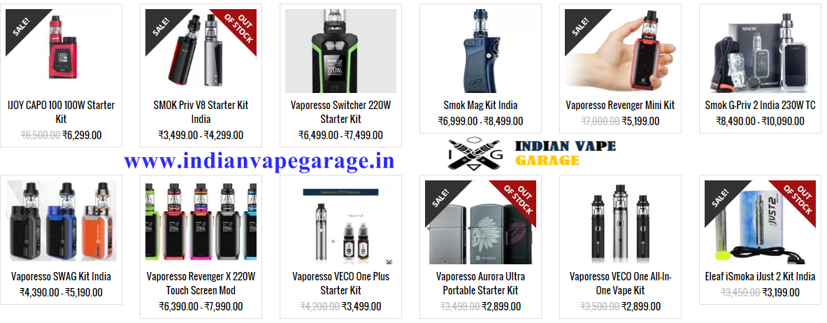 Indian Vape Garage is a Pune based reseller and supplier of quality