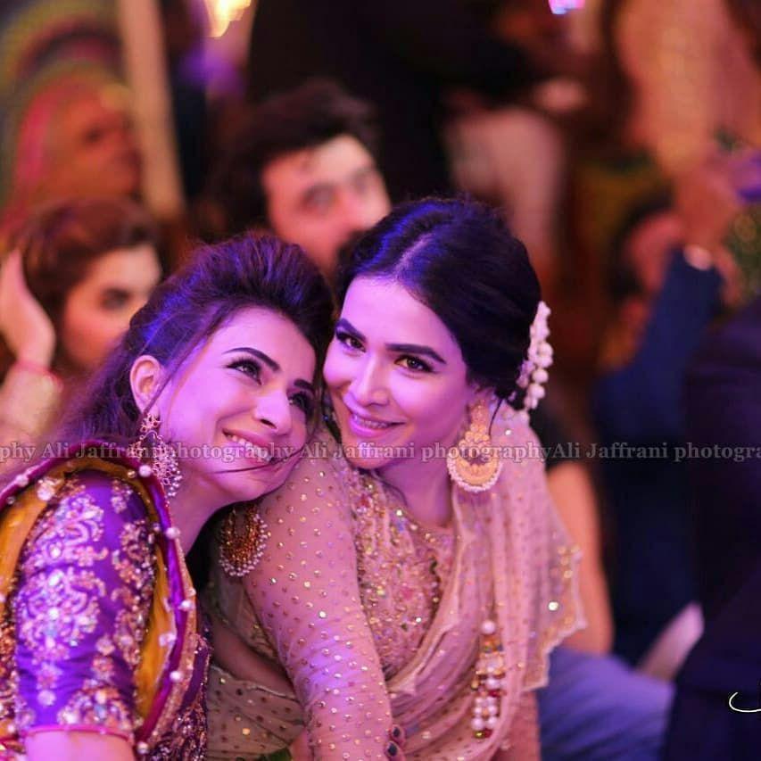 Beautiful Sister ❤ Feroze Khan Mehendi Ceremony Happening Now ...