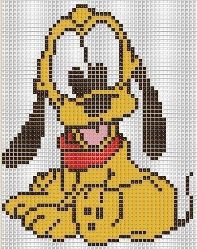 Dog Pluto Puppy Peyote Bead