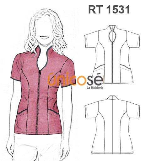 Nicos la molder a costura scrubs uniform scrubs for Spa uniform patterns