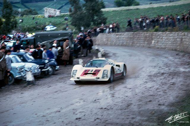 Willy Mairesse / Herbert Muller, #148 Porsche 906, Targa Florio 1966 (1st)