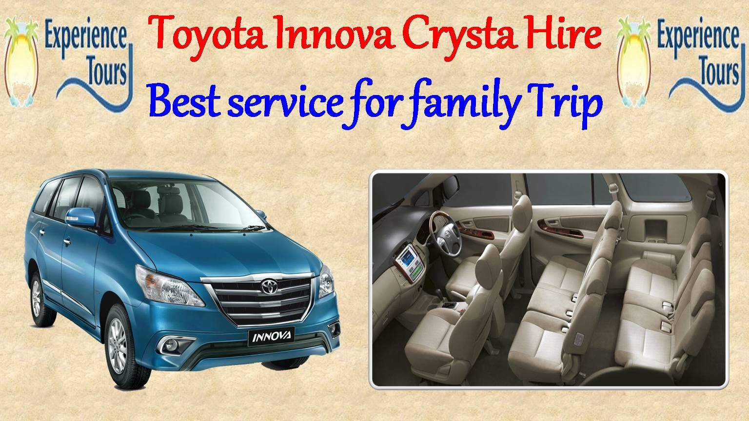 Experience Tours Is A Well Known Travel Company In Delhi That Has All Types Of Luxury Vehicles For Leisure And Toyota Innova Car Hire Travel Trailer Insurance