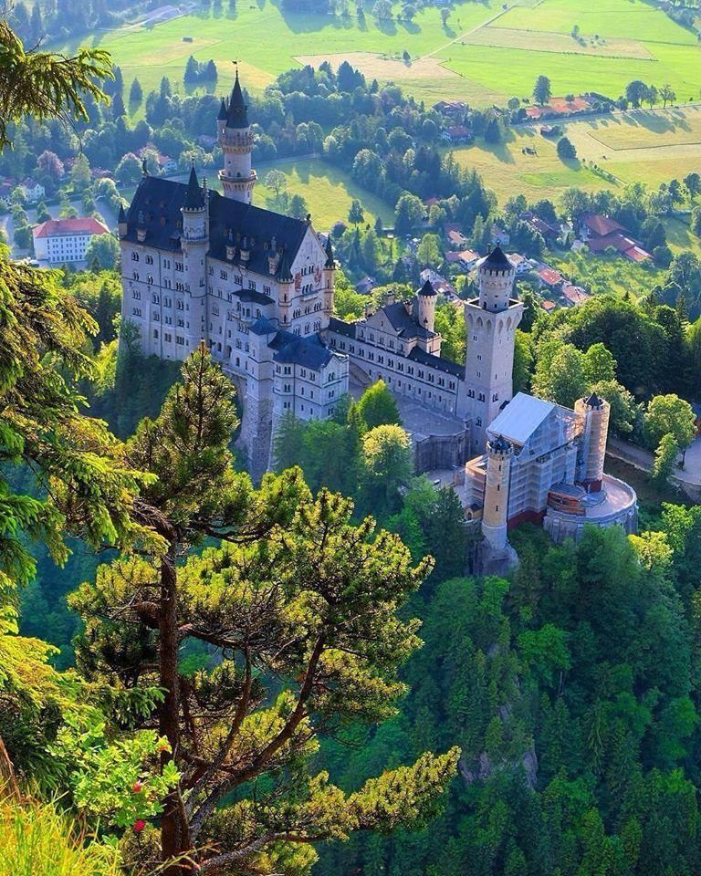 Neuschwanstein Castle Germany Neuschwanstein Castle Beautiful Castles Germany Castles