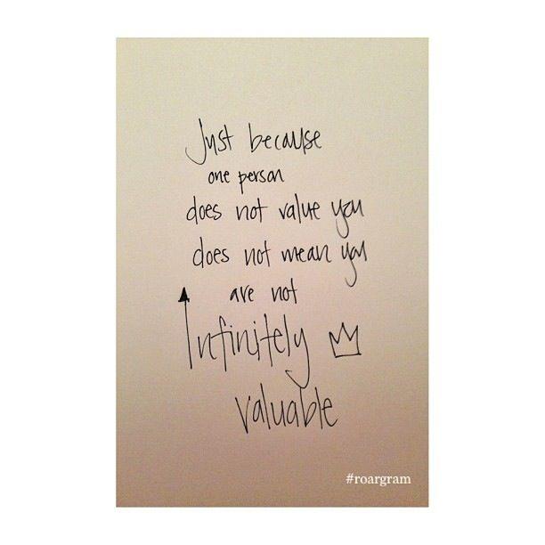 Infinite worth