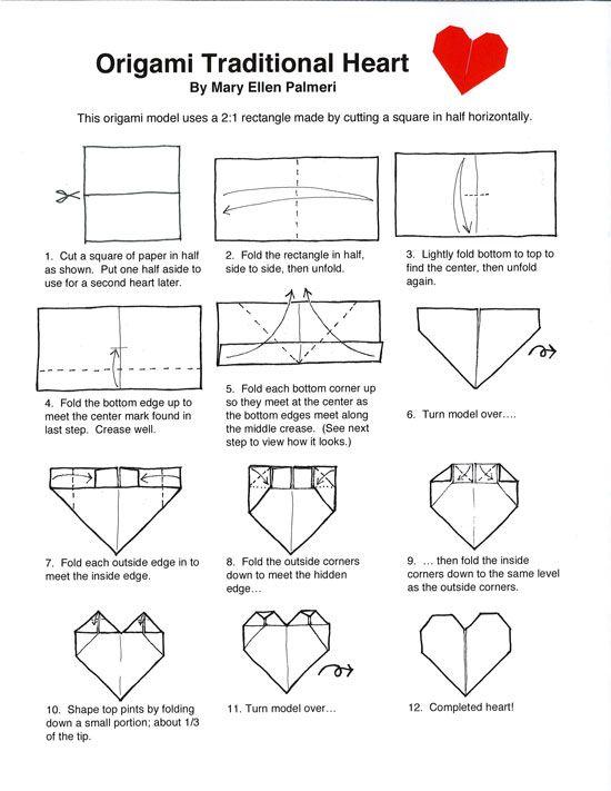 Terrific Origami Page Origami Origami Origami Heart Heart Diagram Wiring 101 Photwellnesstrialsorg