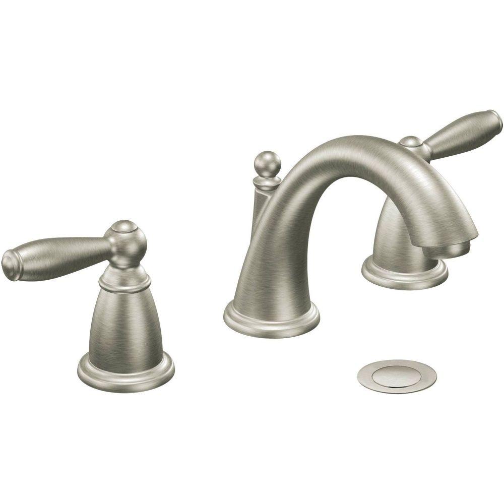 Moen T6620bn Brantford Two Handle Widespread Bathroom Faucet Trim
