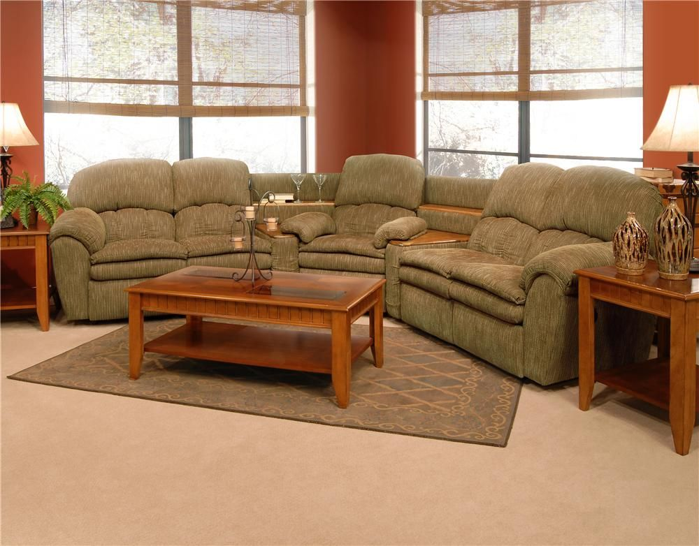Oakland Reclining Sectional by England | Decorating the ...