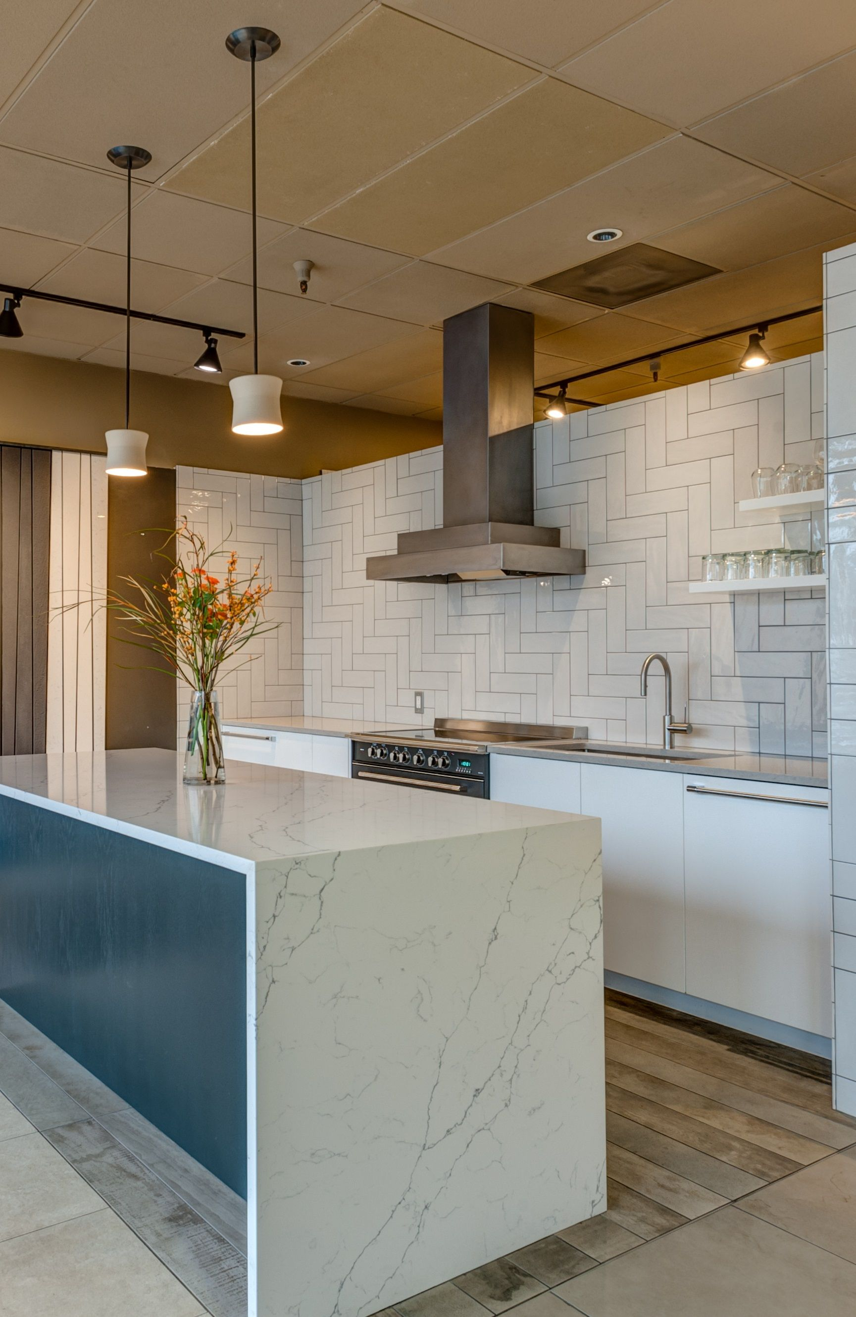 Our Portland Showroom Has A New Kitchen To Show Off A Large