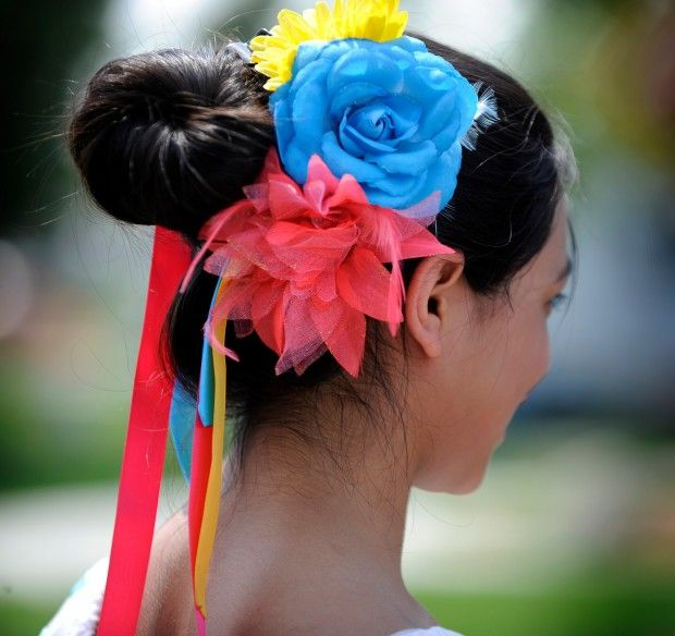 Hair Style For Girls For The Parade Style Hair Styles Hair
