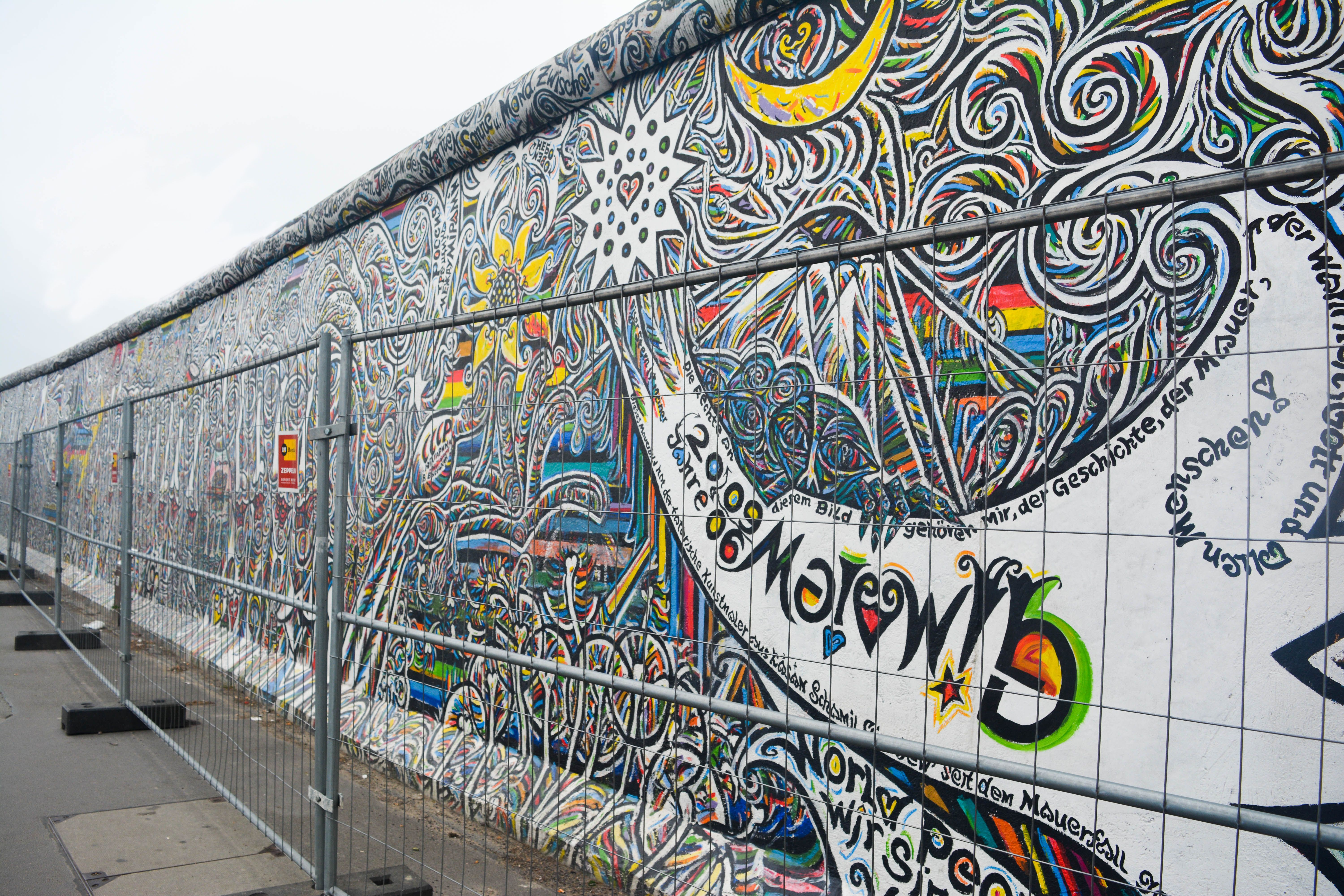 East Side Gallery Berlin Wall Murals And Art 3 Best Street Art Berlin Europe Travel Tips