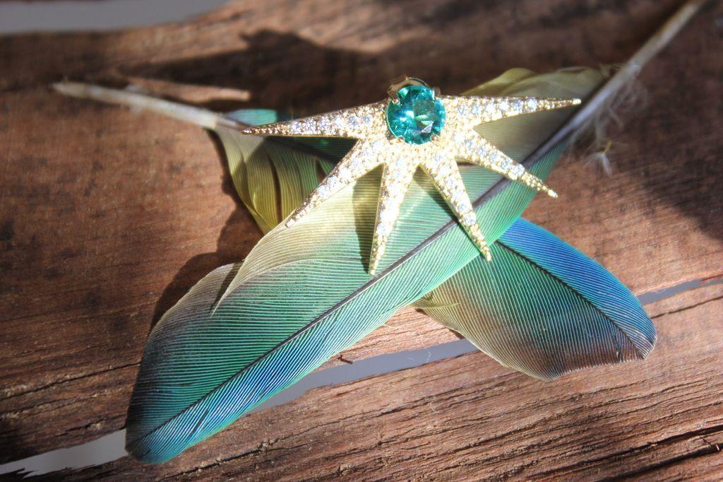 Raio de sol azul - Comprar em Cris Degan joias