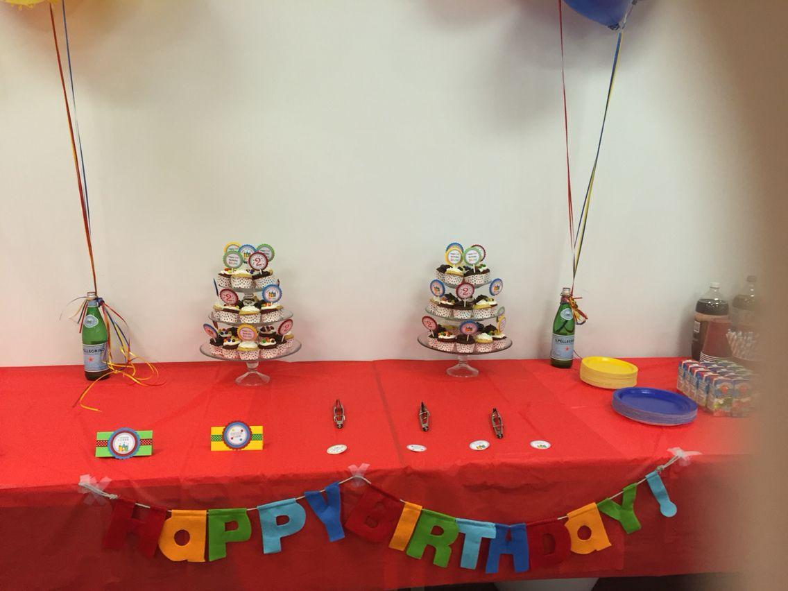 Bouncy House/Ball theme birthday party