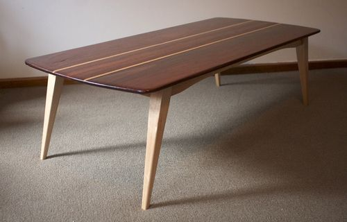 Iron Bark And Oak Coffee Table Red Iron Bark Is An