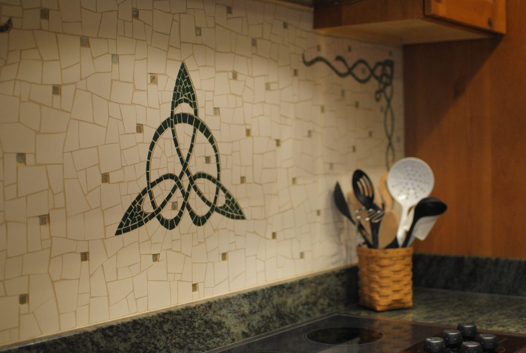 Celtic Kitchen Backsplash Irish kitchen, Custom kitchen