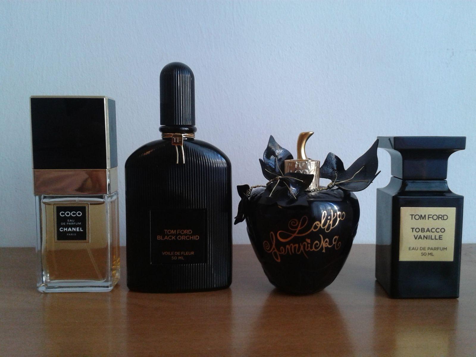 ffbc9cdcb9f44 Coco Chanel  TF Black Orchid   Lolita Lempicka   TF Tobacco Vanille ...