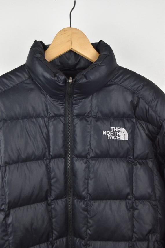 Mens North Face 600 Down M Black Size Medium Puffer Coat Good ... 559915b4c