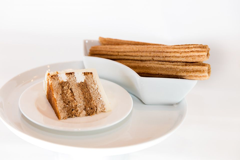 A Slice Of Churro Cake One Of Our Newest Flavor Creations For Our