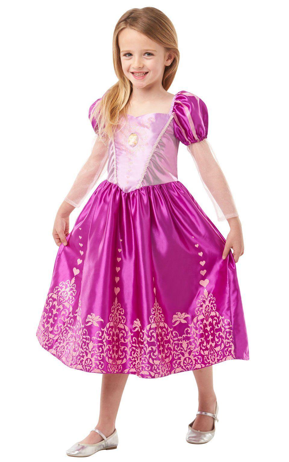 Costume CARNEVALE DISNEY RAPUNZEL Classic Tangled Big Print Rubies by Brand TOYS