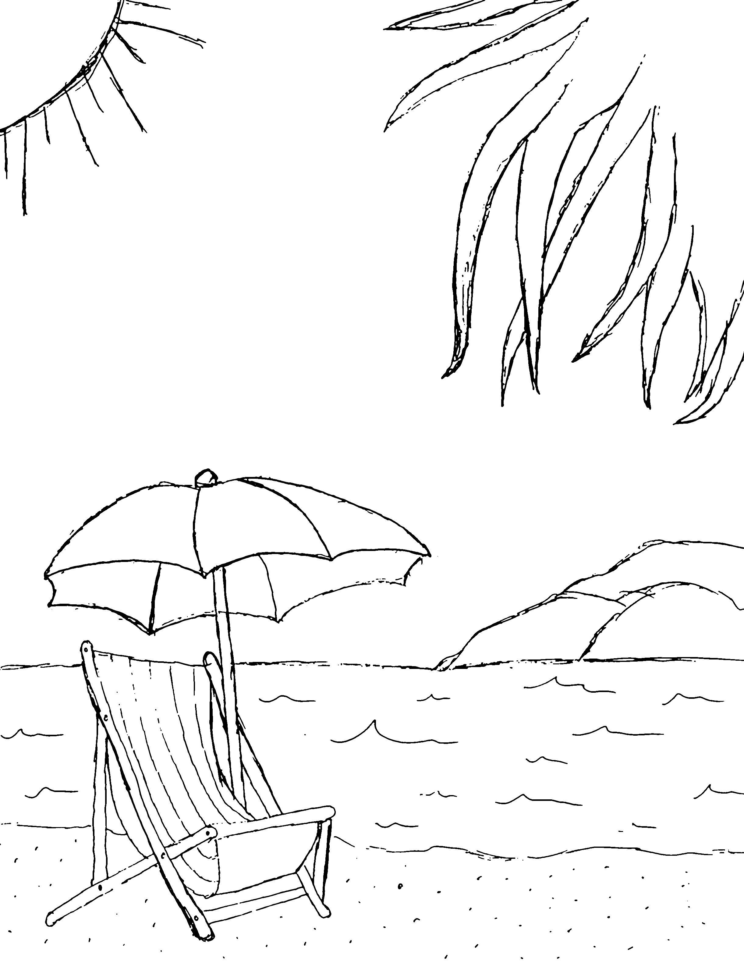 Beach 2442x3160 Pixels