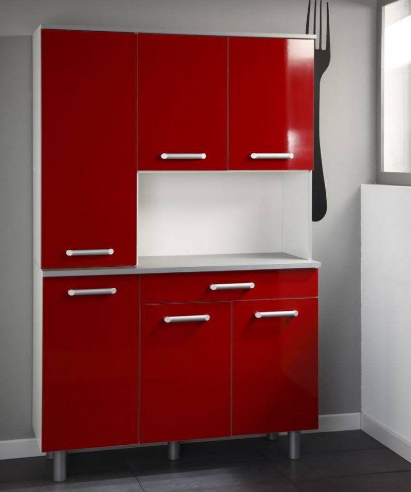 küchenfronten bekleben rot