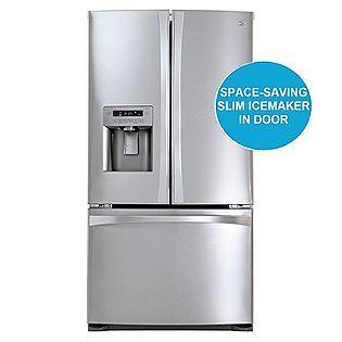 Best Reviews 27 6 Cu Ft French Door Bottom Freezer Refrigerator