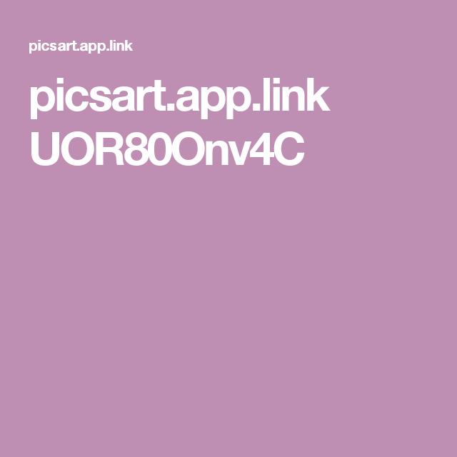 picsart app link UOR80Onv4C | bigfoot | Picsart, Logos, App