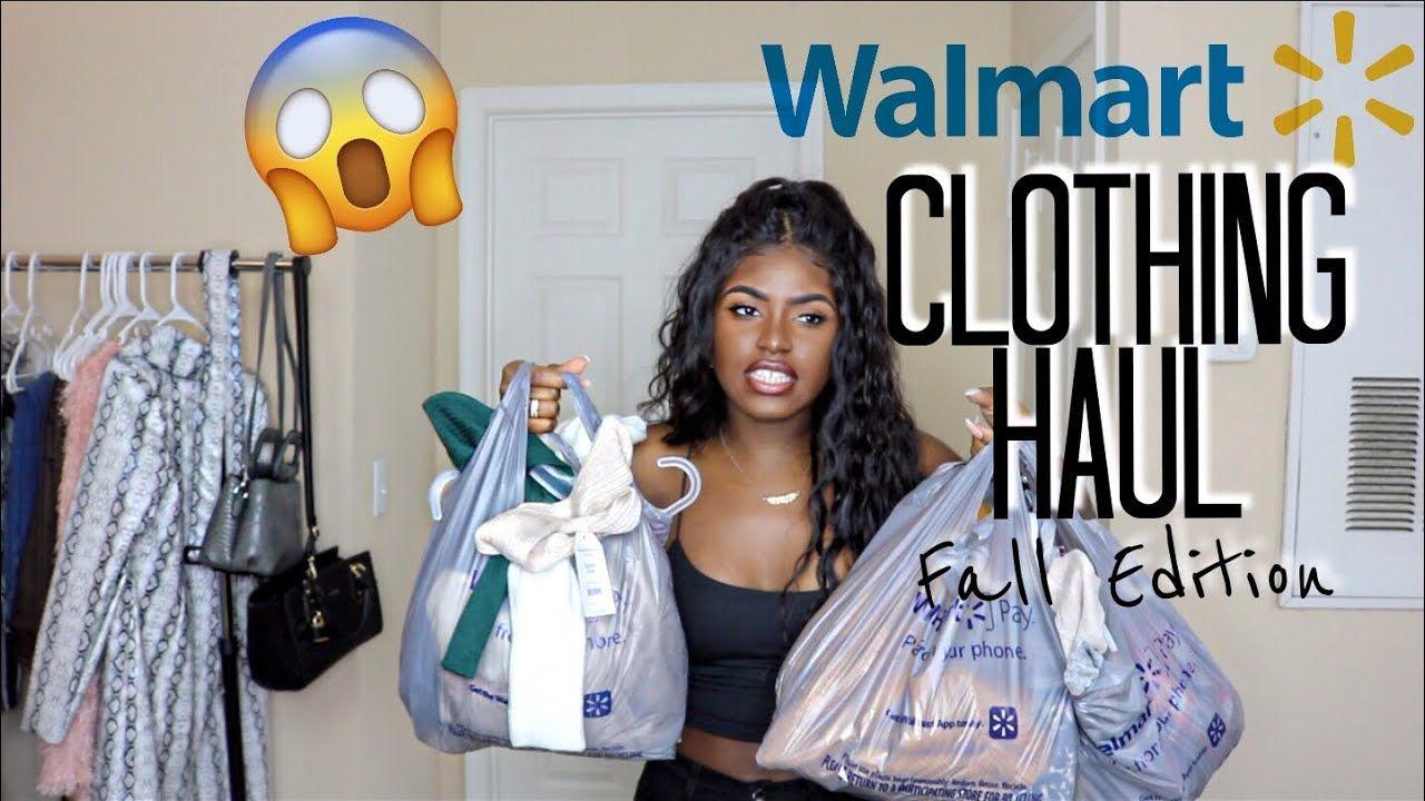 3caa2d96ba933 WALMART TRY ON CLOTHING HAUL   FALL EDITION 2018   iDESIGN8 - YouTube