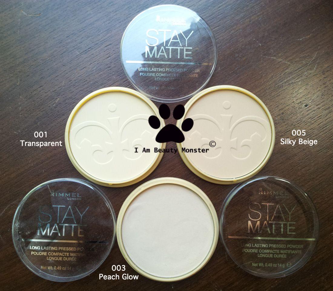 Review: Rimmel Stay Matte Long Lasting Pressed Powder มารีวิวกับเค้าบ้าง