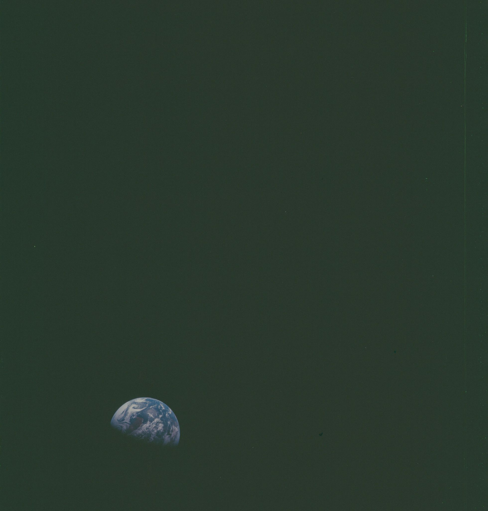 https://flic.kr/p/zkpPXN | AS08-15-2535 | Apollo 8 Hasselblad image from film magazine 15/F - Trans-Earth Coast