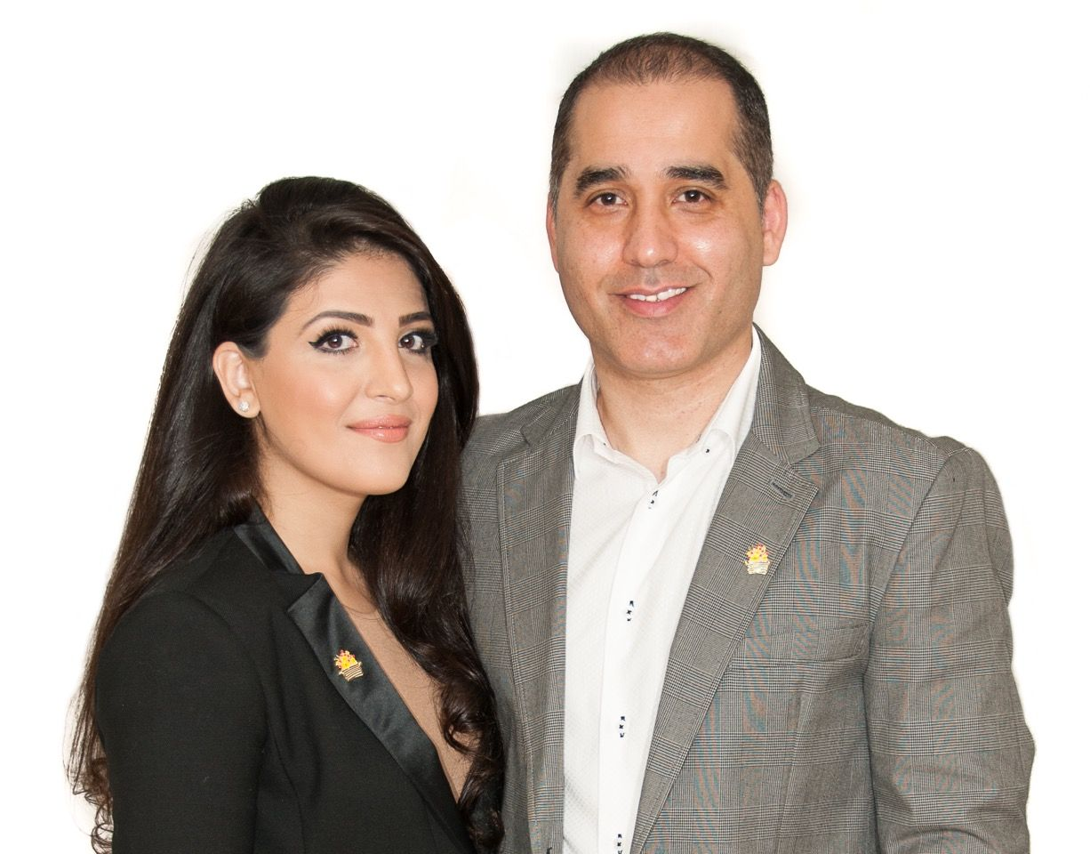 congrats to brandon and marci lang the new owners of edible congratulations to weeda ulomi behroz ahmad the proud new owners of edible arrangements®