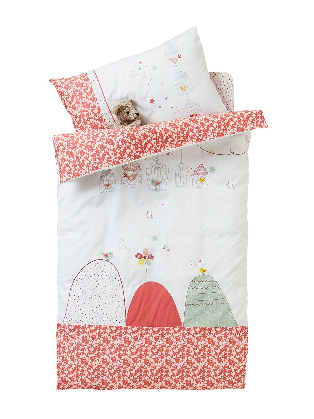 housse de couette b b brod e birdy love collection printemps t 2014. Black Bedroom Furniture Sets. Home Design Ideas