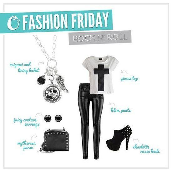{O2 Fashion Friday}-Origami Owl Www.chanteld.origamiowl.com