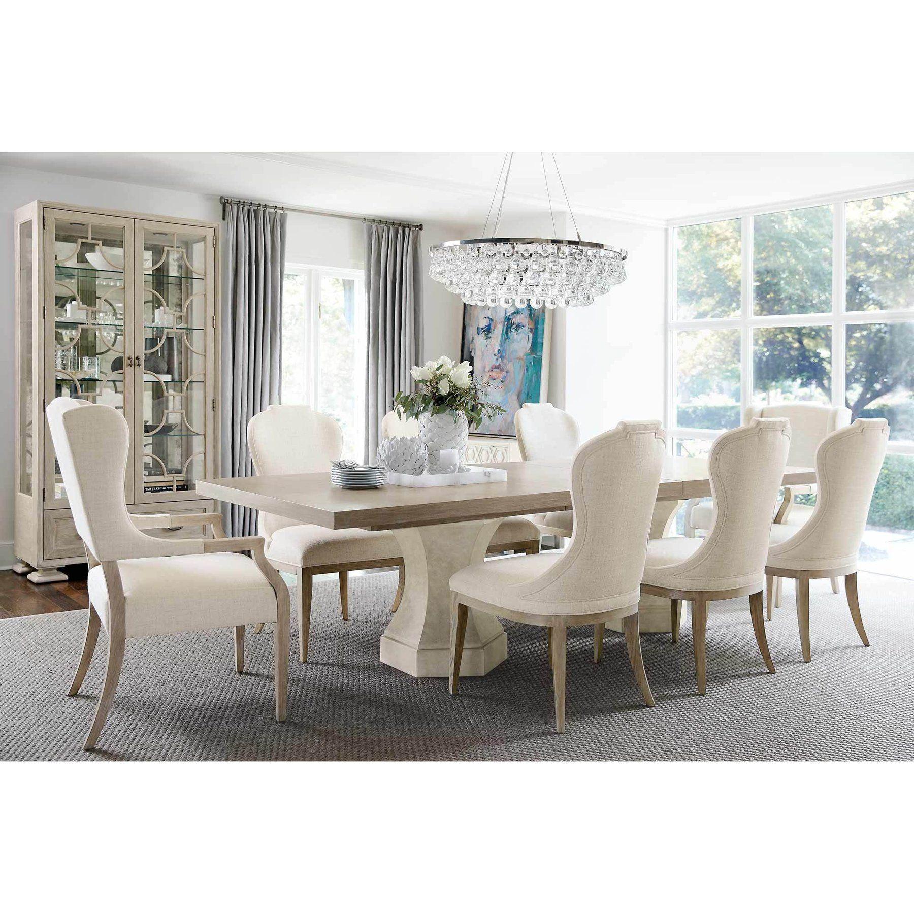 Bernhardt Santa Barbara Rectangular Dining Table