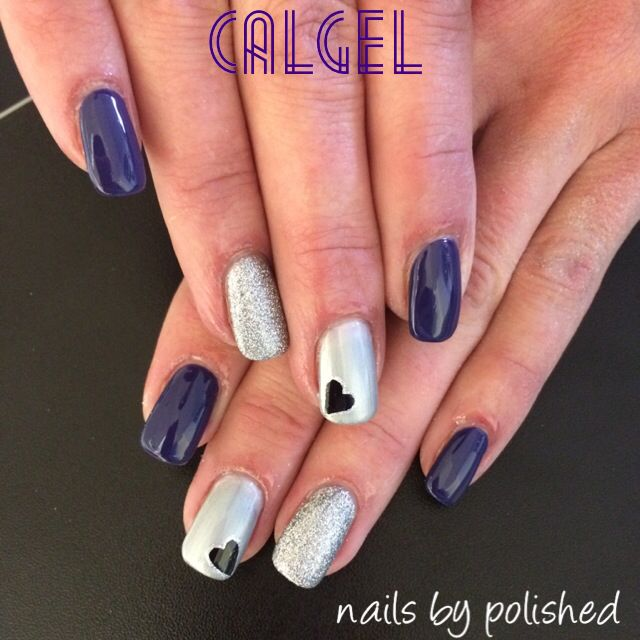 Calgel Nail Art By Polished Calgel Pinterest Nail Stuff