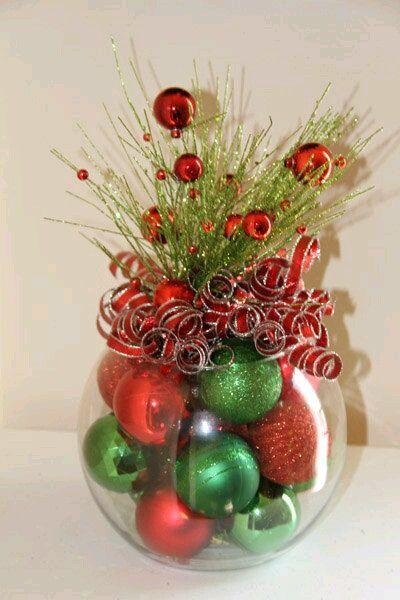 las peceras de cristal pueden resultar muy tiles para crear hermosas navideas usando elementos tpicos