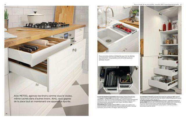 Cuisine Ikea Coup D Oeil Sur Le Nouveau Catalogue 2017 Cuisine Ikea Ikea Meuble Design