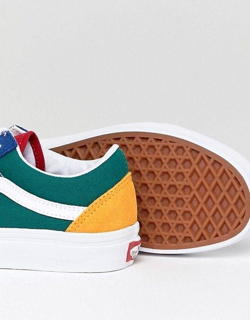 29a26922b38e Vans Old Skool Sneaker In Primary Color Block