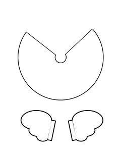 patron pour fabriquer un ange de no l no l pinterest noel anges de no l et deco noel. Black Bedroom Furniture Sets. Home Design Ideas