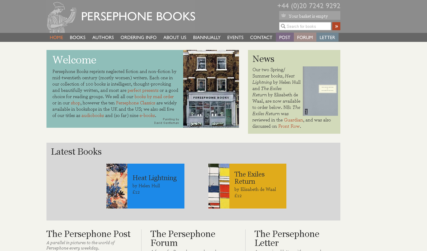 Persephone Books Home Page Book Authors Hull Women Writers