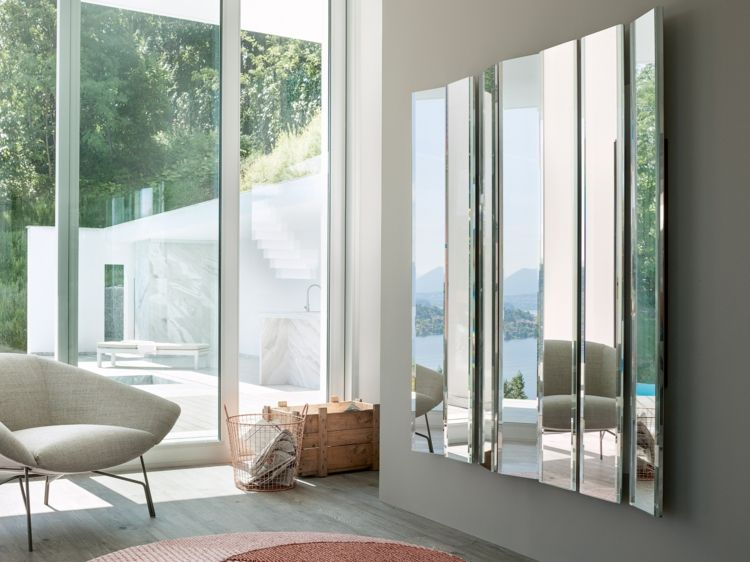 Spiegel im Wohnzimmer - Modelle und schöne Ideen für die ...