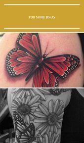 Photo of Tatouage papillon monarque. Début de mon tatouage mi-papillon mi-bras … … -…
