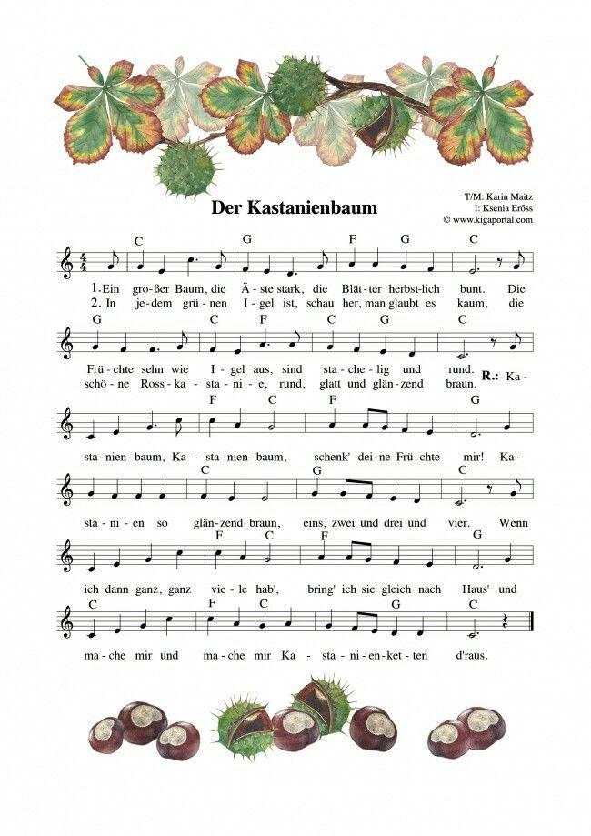 Pin von Julita Pepita auf Ausbildung | Pinterest | Lieder, Herbst ...